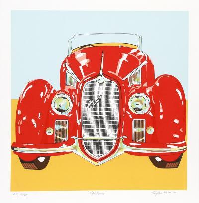 Alfa Romeo-Phyllis Krim-Collectable Print