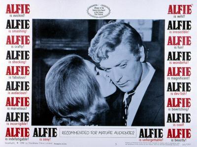 Alfie, Michael Caine, 1966--Photo