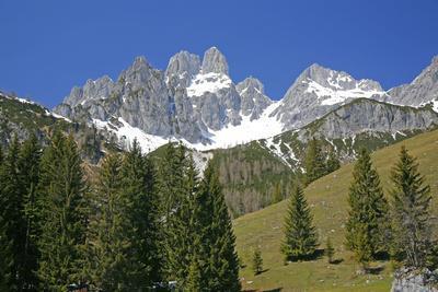 Austria, Filzmoos, Dachstein, BischofsmŸtze, Mountains