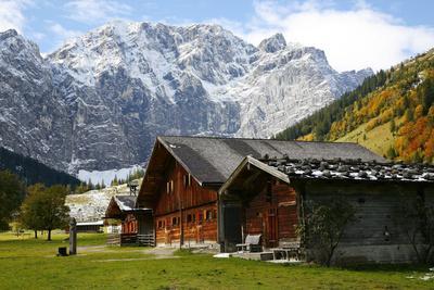 Engalmen, Autumn, Karwendel, Hinterri§, Austria