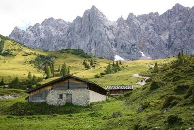 Mountain Landscape, Alp, Mountains