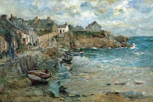 Coast of Cornwall by Alfonso Hollaender
