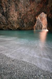 Italy, Calabria, Cedri Coast, Sunset at the Beach of Arcomagno by Alfonso Morabito