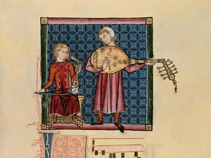 Cantigas De Santa Maria -Codice De Los Musicos, Rabel Y Laud Arabigo by Alfonso X