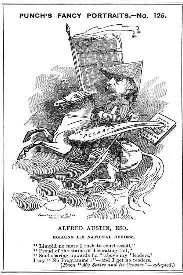 Alfred Austin (1835-191), British Poet, 1883-Edward Linley Sambourne-Giclee Print