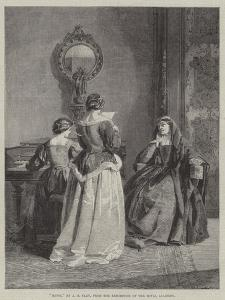 Music, from the Exhibition of the Royal Academy by Alfred Barron Clay