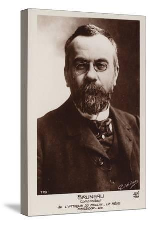 Alfred Bruneau, French Composer (1857-1934)