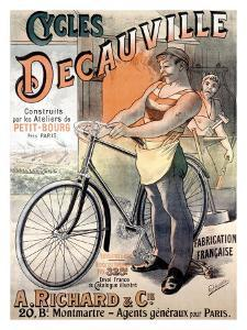 Cycles Decauville by Alfred Choubrac