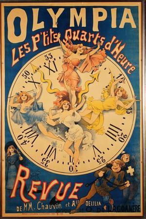 Olympia: Les P'Tits Quarts D'Heure, C.1895