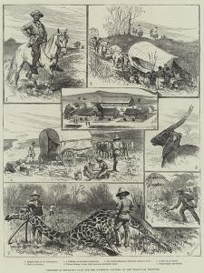 Sketches in Bechuana Land and the Matebele Country, on the Transvaal Frontier by Alfred Courbould