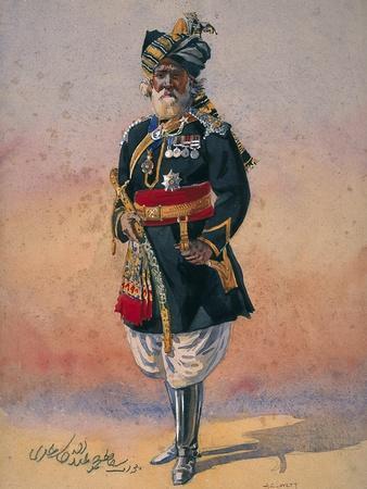 Honorary Native Commandment Nawab Sir Hafiz Muhammad Abdullah Khan, Kcie, I