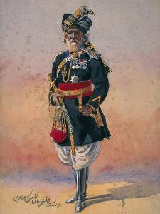 Honorary Native Commandment Nawab Sir Hafiz Muhammad Abdullah Khan, Kcie, I by Alfred Crowdy Lovett