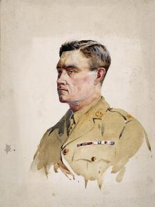 Major A. Martin-Leake, VC, 1902 by Alfred Crowdy Lovett