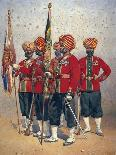 Soldiers of the 15th Ludhiana Sikhs, Illustration for 'Armies of India' by Major G.F. MacMunn,…-Alfred Crowdy Lovett-Giclee Print