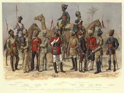 The Madras Army, and Troops under the Government of India