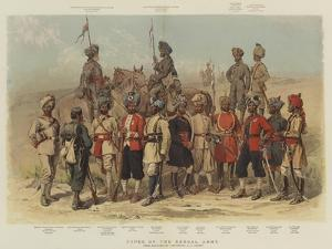 Types of the Bengal Army by Alfred Crowdy Lovett