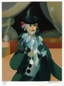 Le clown by Alfred Defossez