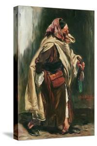 Elderly Moroccan Jew, 1867 by Alfred Dehodencq