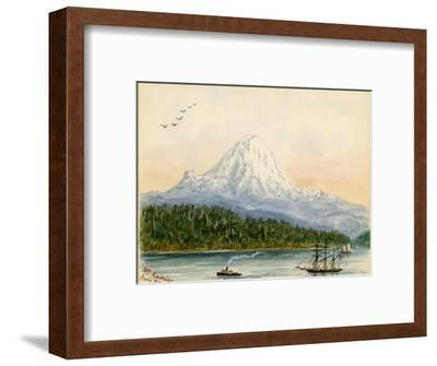 Mt. Rainier From Seattle
