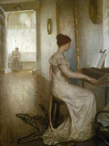 A Sonata of Beethoven, C1868-1918 by Alfred Edward Emslie