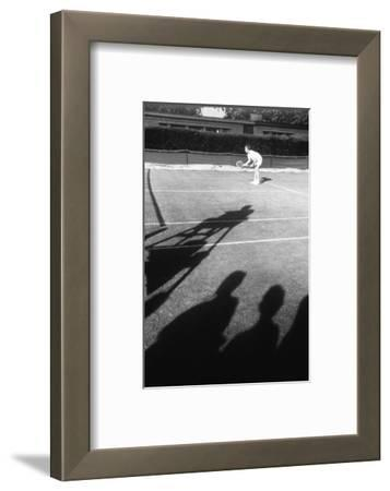 1971 Wimbledon: Tennis Player in Ready Position