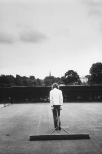 1971 Wimbledon: Worker Combing the Tennis Court Turf by Alfred Eisenstaedt