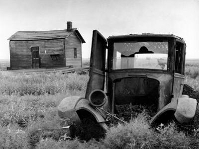 Abandoned Farm in Dust Bowl