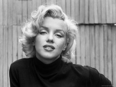 Actress Marilyn Monroe at Home