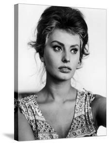 Actress Sophia Loren at Home by Alfred Eisenstaedt