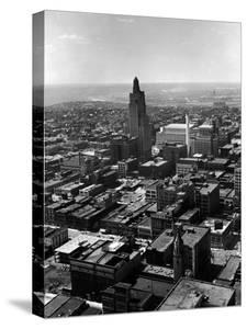 Aerial of Kansas City by Alfred Eisenstaedt