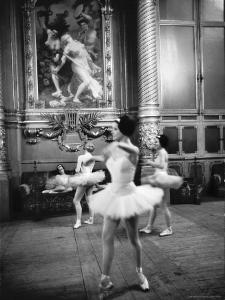 Ballerinas at the Paris Opera in Rehearsal in the House by Alfred Eisenstaedt