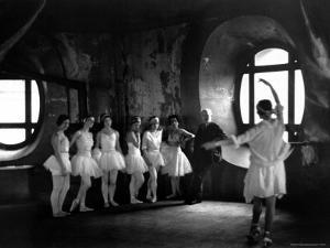 """Ballerinas During Rehearsal For """"Swan Lake"""" at Grand Opera de Paris by Alfred Eisenstaedt"""