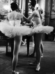 Ballerinas Practicing at Paris Opera Ballet School by Alfred Eisenstaedt