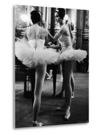 Ballerinas Practicing at Paris Opera Ballet School