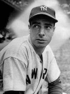Baseball Player Joe Di Maggio in His New York Yankee Uniform by Alfred Eisenstaedt