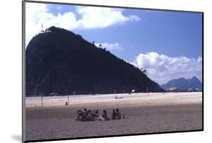 Beach in Rio De Janeiro, Brazil by Alfred Eisenstaedt