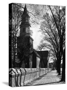 Bruton Parish Church by Alfred Eisenstaedt
