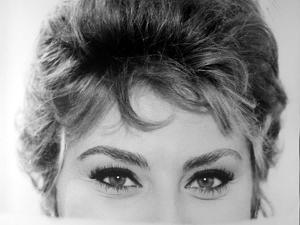 Close Up of the Eyes of Actress Sophia Loren by Alfred Eisenstaedt