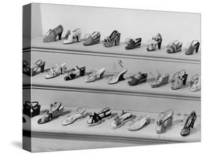 Display of Ferragamo Shoes by Alfred Eisenstaedt