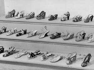 Display of Ferragamo Shoes by Alfred Eisenstaedt