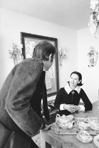 Gloria Vanderbilt and Husband Wyatt Cooper, New York, 1974 by Alfred Eisenstaedt