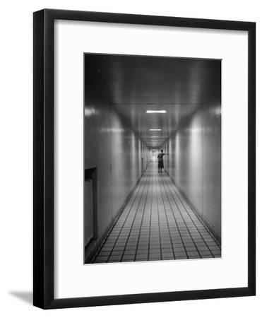 Hallway in the Mayo Clinic