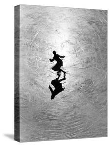 Ice Skating Champion Melitta Brunner Rehearsing in St. Moritz by Alfred Eisenstaedt