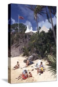 July 1973: Beach Goers in Bermuda by Alfred Eisenstaedt