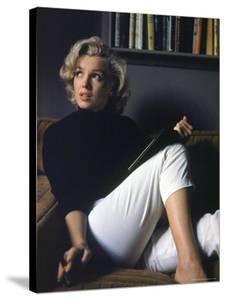 Marilyn Monroe Relaxing at Home by Alfred Eisenstaedt
