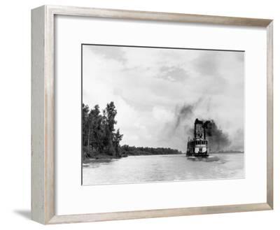 Mississippi River Paddleboat