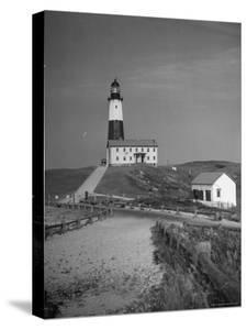 Montauk Point Lighthouse by Alfred Eisenstaedt