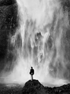 Multnomah Falls by Alfred Eisenstaedt