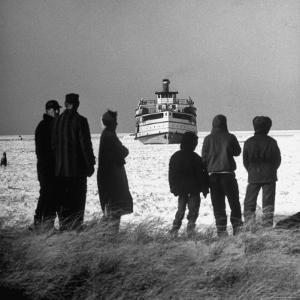 Nantucket in Winter by Alfred Eisenstaedt