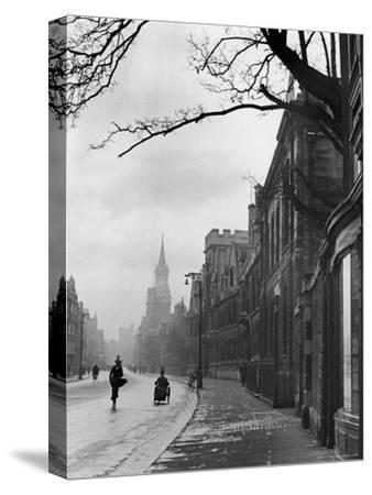 Oxford Street Scene, England